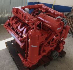MOTOR SCANIA V8 DSI14 TURBO INTERCOOLER MARITIMO 500CV